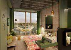 Een urban jungle in het nieuwe hotel van 25hours in Berlijn Roomed | roomed.nl