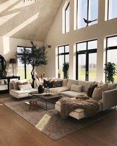 Loft Inspiration // Loft Interior - New Ideas - # Air Lo. - Loft Inspiration // Loft Interior – New Ideas – # Air Loft Inspiration / - Dream Home Design, Home Interior Design, Interior Home Decoration, Modern Home Interior, Grey Home Decor, Home Room Design, Loft Design, Design Case, Luxury Interior