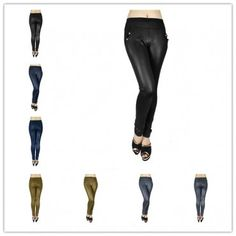 wholesale 12 pieces women fashion silky smooth leggings style 2 assorted colors