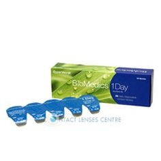 Biomedics 1 Day Contact Lenses Assures Clear Vision & Comfort To Your Eyes Through Out The Day Daily Contact Lenses, 1 Day, Fresh