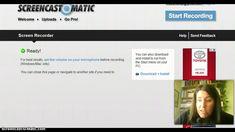 Videotutorial básico de utilización de Screencast o Matic
