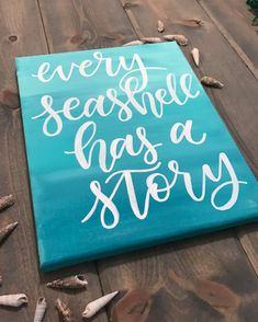 trendy ideas for painting wood canvas quotes Beach Canvas Paintings, Canvas Painting Quotes, Easy Canvas Painting, Canvas Quotes, Diy Canvas Art, Wood Canvas, Diy Painting, Painting On Wood, Canvas Letters