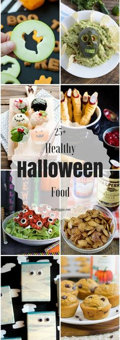 Healthy Halloween Food Ideas - Do It yourself Halloween Desserts, Muffins Halloween, Creepy Halloween Food, Hallowen Food, Healthy Halloween Treats, Fete Halloween, Halloween Dinner, Halloween Food For Party, Halloween Costumes