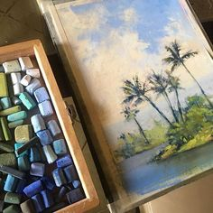 A little 9x12ish plein air piece from Hilo. So much green. So much blue. So much aloha.