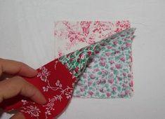 Tuto : le sac 22 carrés - Damocamelia & Violaine présentent Floral Tie, Textiles, Sewing, Womens Fashion, Pattern, Montage, Bags, Accessories, Tutorial Sewing
