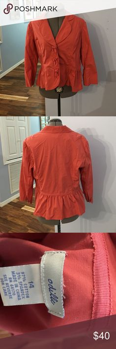 Anthropolgie oriole crop dress jacket Great condition no tears or stains Anthropologie Tops