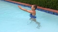 Pool Exercises On Pinterest Swimming Workouts Water Aerobics And Swimming Pool Exercises