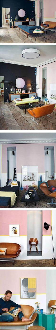 Beautiful Jean Christophe Aumas' Paris apartment