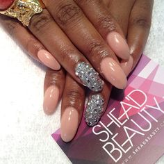 Simplicity. Nails did for @Funmi Ayoola #nails #nailart #london #beauty #bling #SheaD #art #nude #ysl