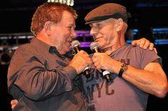 Star Trek Las Vegas 2010 -  Bill Shatner and Patrick Stewart