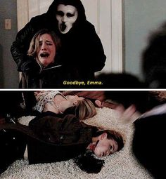 Scream MTV Season 2 and i want to personally thank EVERYONE FOR PINNING THIS, SAVING IT, AND LOVING THIS PHOTO YOU ARE ALL SO AWESOME LONG LIVE US SCREAMERS!!!! <333 btw i FINALLY found out what happened here. this is an edit someone did. it's from the series THE FOLLOWING. EPISODE IS BETRAYAL.  not in any episode
