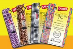 Carmex Moisture Plus Glam FREE Carmex Moisture Plus and Make up Bag Sweepstakes and Giveaway