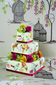 Birds themed cake from the Little Venice Cake Company! Shop the range now at C+C: http://www.createandcraft.tv/pp/little-venice-cake-company-heart-nesting-cutter-kit-332110?fh_location=//createandcraft/en_GB/$s=little\u0020venice\u0020cake\u0020company/brand_cc@gt;{little20venice20cake20company} #cakedecorating