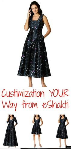 008e96fa Create your own custom dress blouse or tunic from eShakti. Get fashion  that's made just