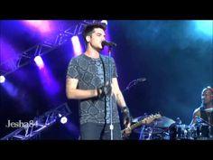 "Adam Lambert performs ""Chokehold"" at Universal Studios Summer Concert Series. Orlando, FL 6/29/13"