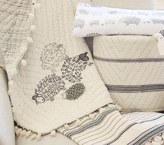 Organic Sleepy Sheep Nursery Bedding