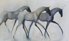 Alison Hale - Light with Grace Cow Painting, Painting & Drawing, Horse Sketch, Watercolor Horse, Horse Drawings, Art For Art Sake, Equine Art, Horse Art, Unique Art