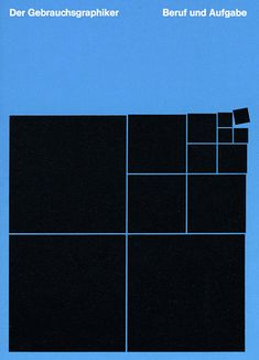 Nice - blue background with black squares