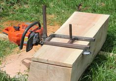 A rather large silver maple tree trunk came down in a wind storm recently. I have cut most of it up for firewood but there was a nice 4 foot section that I decided to make into some boards. Maple h...