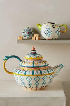 Capan Teapot #anthropologie