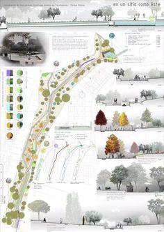 Landscape Architecture And Urban Design Copenhagen Architecture Panel, Landscape Architecture Design, Architecture Graphics, Urban Architecture, Landscape Plans, Architecture Drawings, Architecture Portfolio, Urban Landscape, Landscape Concept
