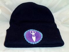 Hey, I found this really awesome Etsy listing at https://www.etsy.com/listing/158330760/divine-mother-embroidery-on-beanie-hat