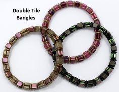 Starman TrendSetter Pattern Double Tile Bangle