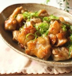 鶏もも肉のマヨポン柚子胡椒炒め*連載記事の過去レシピ2