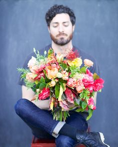 Humans with Bouquets: Matt // beautiful design by Tulipina