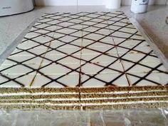 medovo-kakaové rezy od @aslana