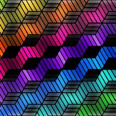 Makeup Wallpapers, Iphone Wallpapers, Colorful Wallpaper, Rainbow Wallpaper, Go Shopping, 2 Colours, Artsy Fartsy, Rainbow Colors, Cube