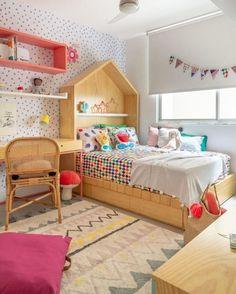Baby Bedroom, Girls Bedroom, Bedroom Decor, Sala Indiana, Creative Kids Rooms, E Room, Kids Room Design, Girl Room, Room Inspiration