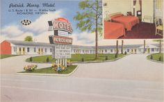Patrick Henry Motel, Prints and Photographs, LVA.