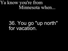 minnesota cabin, up north minnesota, truth, funni, you know your from minnesota, thing minnesota, yup, true stories