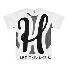 Hustle maniacs logo t-shirt