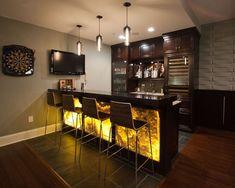 Interior: Magnificent Designs For Home Bar Top Ideas Custom Bars ...