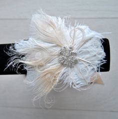 Feather Corsage Wristlet Great Gatsby Wedding Feathrs Wrist Corsage Keepsake Wrist Feacock Corsage Prom Mother Bridesmaid 1920s Corsage
