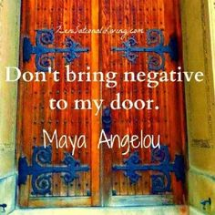 Negative thoughts should be avoided when attempting to overcome any problem, especially infertility. Place a door in your mind that welcomes & opens only to progressive thoughts.