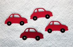 Red Car Embellishments