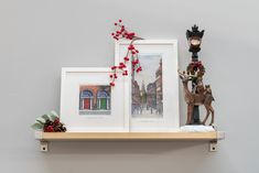 Decorate your home with some Irish piece of Art and Christmas decorations. Snowflake Decorations, Christmas Gift Decorations, Tree Decorations, Irish Christmas, Magical Christmas, Holly Bush, Irish Design, Room Lights, Red Ribbon