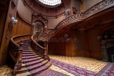 Casino Stairs Stock Photos