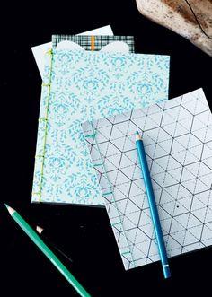 Det lille bogbinderi: Lav smukke notesbøger - Boligliv