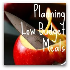 Meal Planning! Low Budget Meals