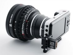 The LockPort Pocket is a new product developed to help avoid damaging your Blackmagic Pocket micro HDMI camera port.