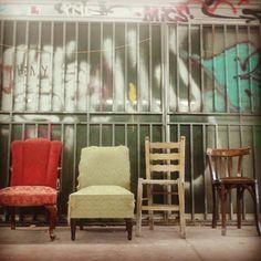 Street-Art Take A Seat, Athens, Street Art, Divider, Eyes, Room, Furniture, Home Decor, Bedroom