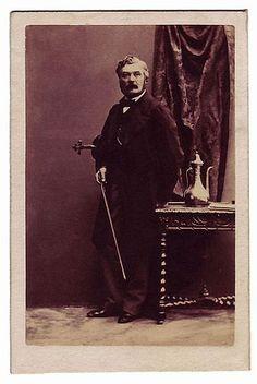 Prosper Sainton (1813-1890), photograph (1860), by Camille Silvy (1834-1910).