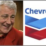 Obama's nominee for secretary of defense Chuck Hagelsits on the board of Chevron Corporation, an organization that has received millions of dollars in Department of Defense contracts.