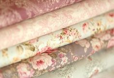 Love the Pink toile and roses