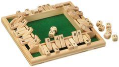 Shut the box - Philos Spiele - Juego de tablero, 1 o más jugadores (versión en Italiano): Amazon.es: Juguetes y juegos