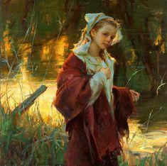 daniel f gerhartz | Beautiful Girls Paintings by Daniel F. Gerhartz - The Wondrous Pics